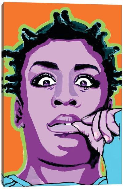 Crazy Eyes Canvas Art Print