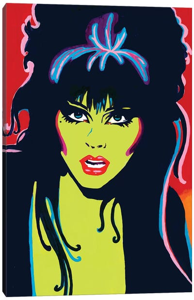 Elvira Canvas Art Print
