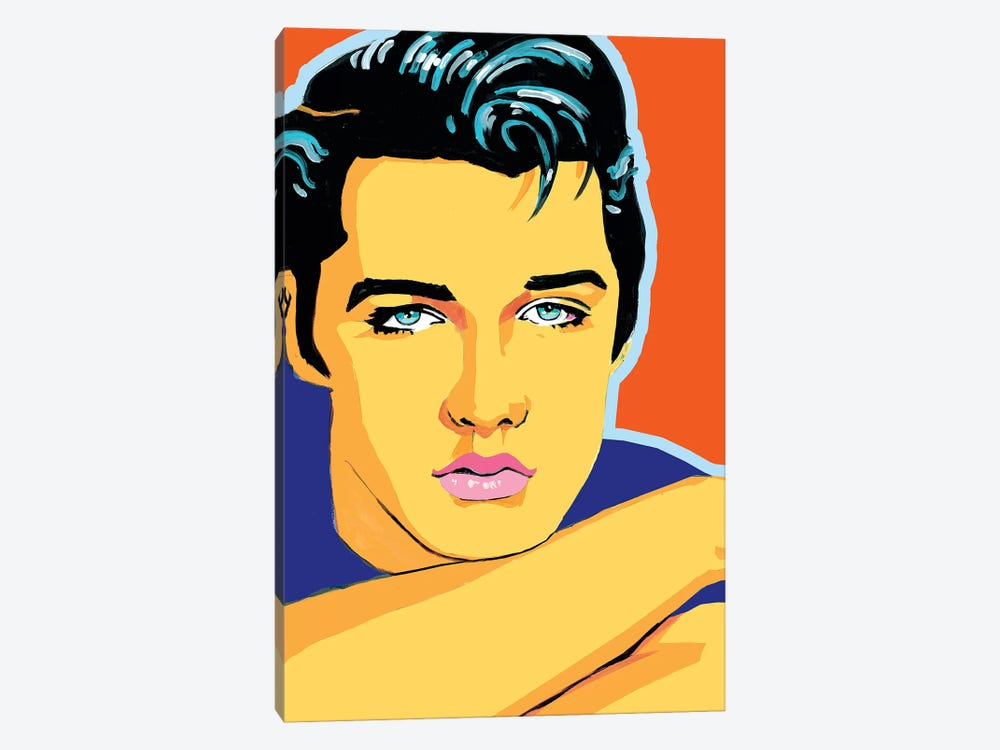 Elvis by Corey Plumlee 1-piece Canvas Artwork