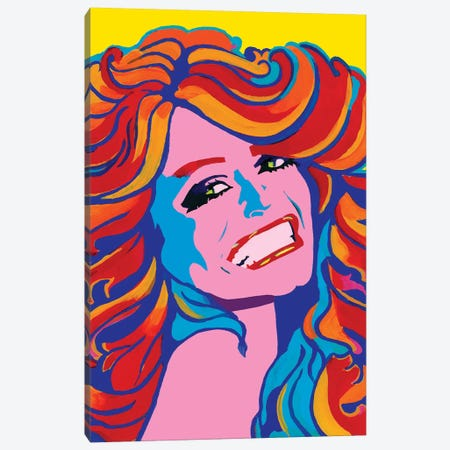 Farrah Canvas Print #CYP17} by Corey Plumlee Canvas Wall Art