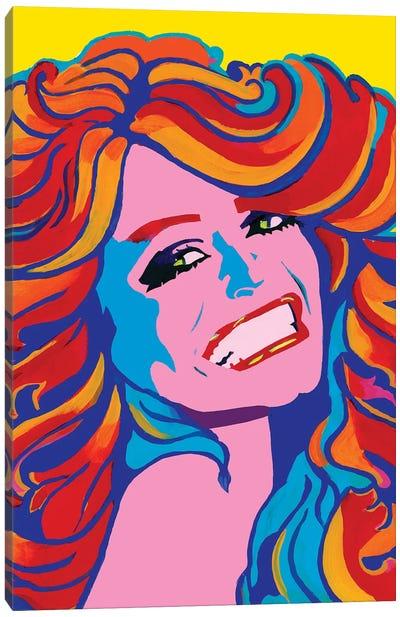 Farrah Canvas Art Print