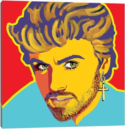 George Michael Canvas Art Print