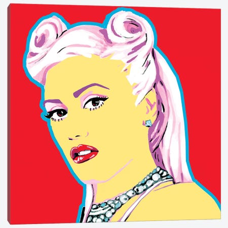 Gwen S Canvas Print #CYP21} by Corey Plumlee Canvas Artwork