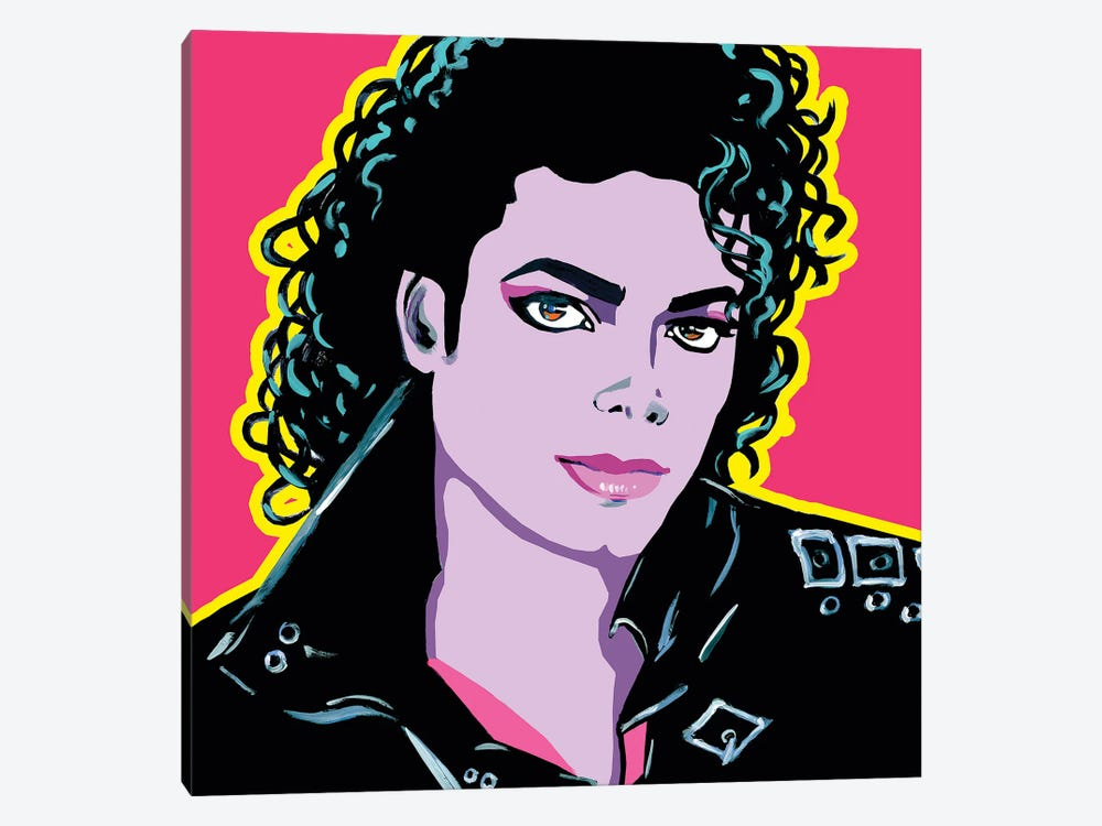 Michael Jackson by Corey Plumlee 1-piece Canvas Artwork