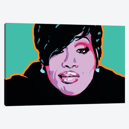 Missy Elliott Canvas Print #CYP28} by Corey Plumlee Canvas Wall Art