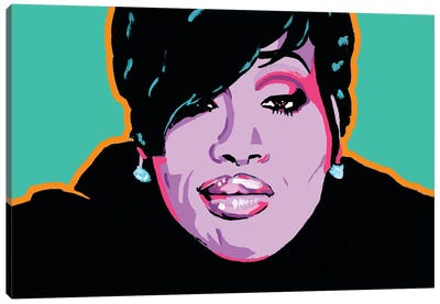 Missy Elliott Canvas Art Print