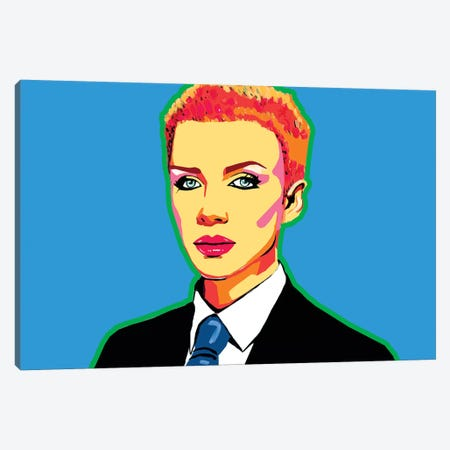Annie Lennox Canvas Print #CYP2} by Corey Plumlee Canvas Print