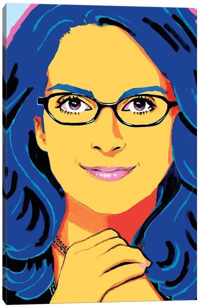 Tina Fey Canvas Art Print