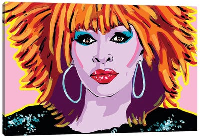 Tina Turner Canvas Art Print