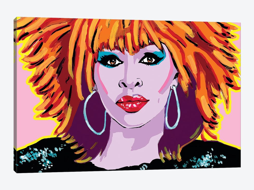 Tina Turner by Corey Plumlee 1-piece Canvas Art Print