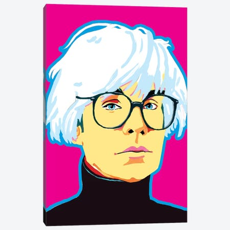 Warhol Canvas Print #CYP35} by Corey Plumlee Canvas Art