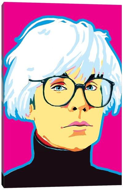 Warhol Canvas Art Print
