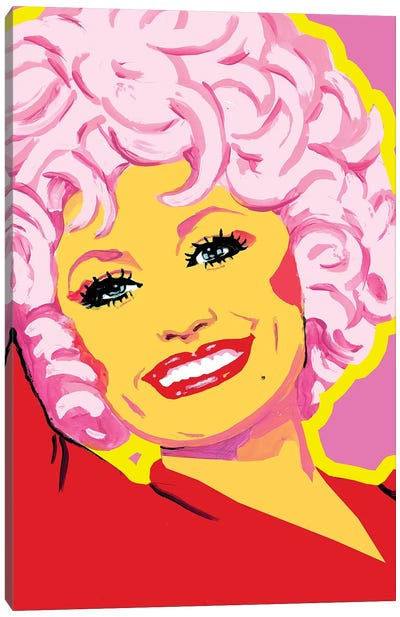 Dolly Parton Canvas Art Print