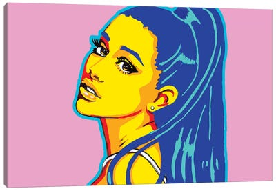 Ariana Grande Canvas Art Print