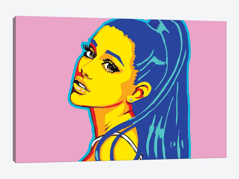 Ariana Grande by Corey Plumlee 1-piece Art Print