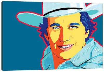 George Strait Canvas Art Print