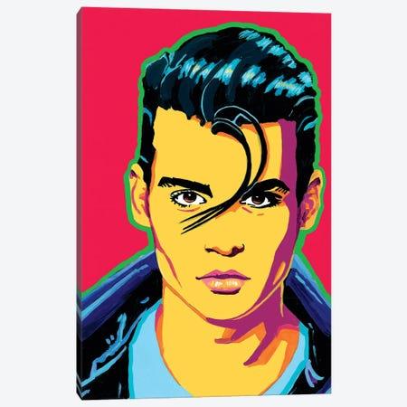 Johnny Depp Canvas Print #CYP41} by Corey Plumlee Canvas Artwork