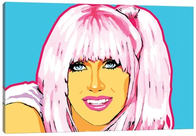 Suzanne Somers Canvas Art Print