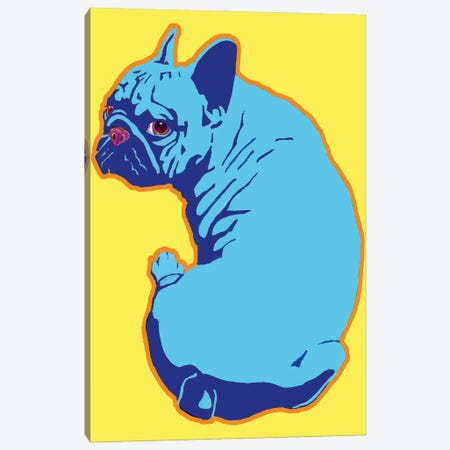 French Bulldog Canvas Print #CYP46} by Corey Plumlee Canvas Art Print