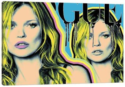 Kate Moss Vogue Canvas Art Print