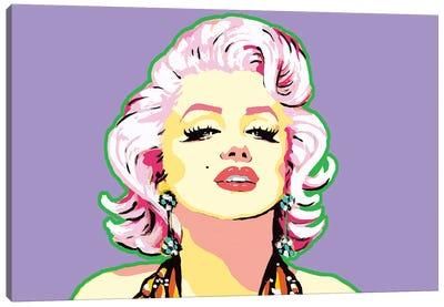 Purple Marilyn Canvas Art Print
