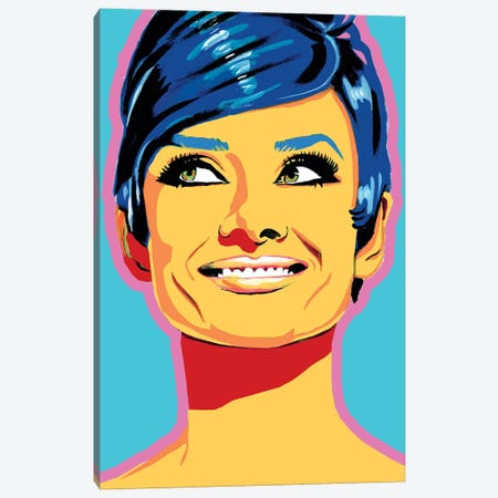 Audrey Canvas Print #CYP4} by Corey Plumlee Canvas Art
