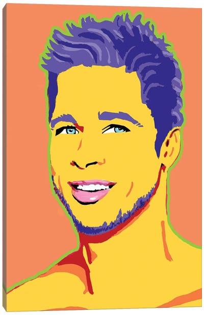 Brad Canvas Art Print