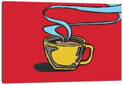 Red Coffee Canvas Art Print