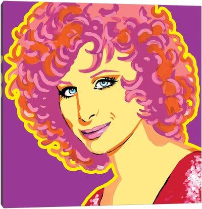 Barbra Streisand Canvas Art Print