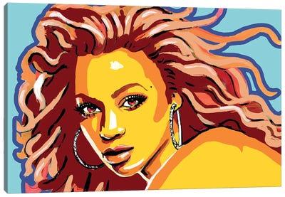 Beyonce Canvas Art Print