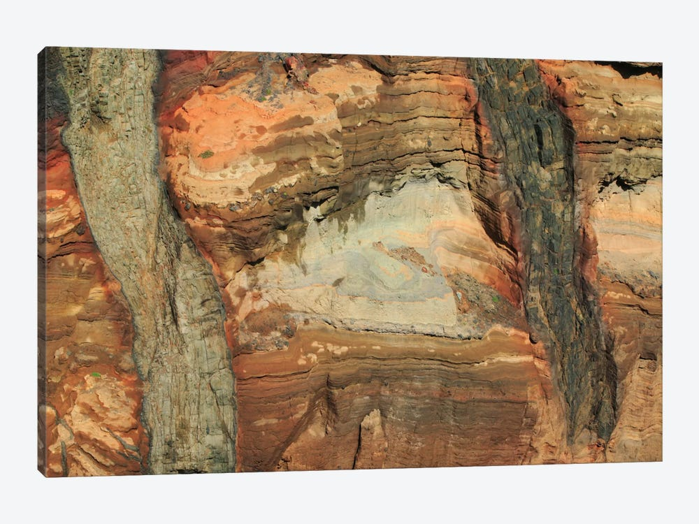 Rocky Volcanic Cliff In The Ponta De Sao Lourenco Nature Reserve, Madeira by Cyril Ruoso 1-piece Canvas Artwork