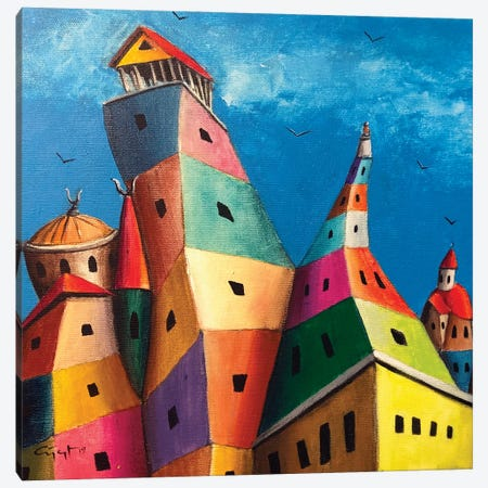 The Seven Sleepers Canvas Print #CYS10} by Cüneyt Süer Canvas Artwork