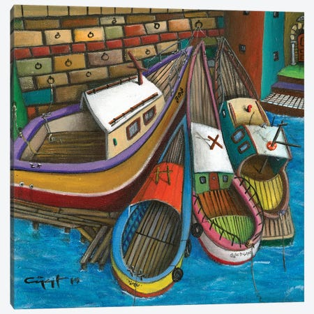 The Sluggard Canvas Print #CYS12} by Cüneyt Süer Canvas Art