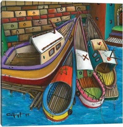 The Sluggard Canvas Art Print