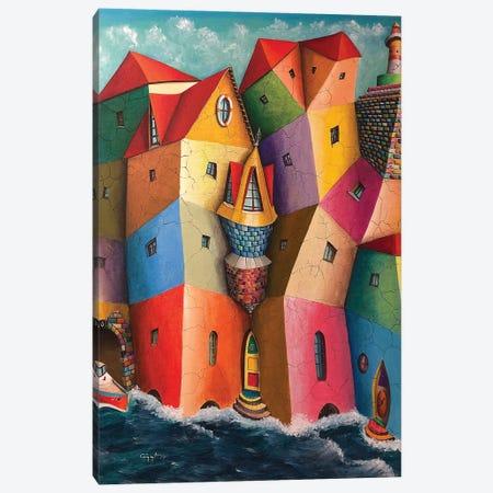 The Hooter Canvas Print #CYS14} by Cüneyt Süer Canvas Print