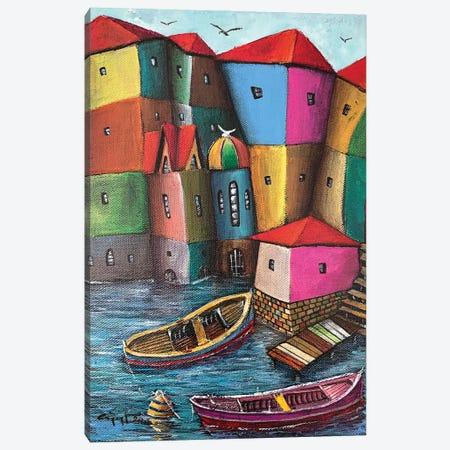 Logy Canvas Print #CYS17} by Cüneyt Süer Art Print