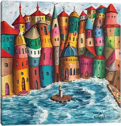 La Piazza Canvas Art Print