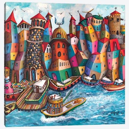 La Fuggitiva Canvas Print #CYS19} by Cüneyt Süer Canvas Wall Art