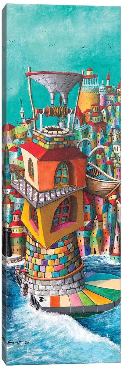 The Mine Canvas Art Print