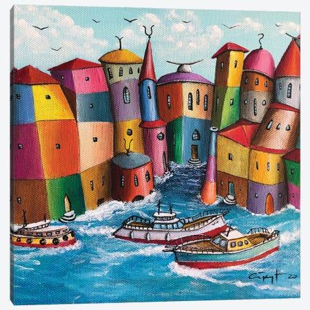 Detour Canvas Print #CYS25} by Cüneyt Süer Canvas Wall Art