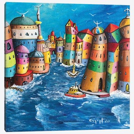 L'Isolamento Canvas Print #CYS26} by Cüneyt Süer Canvas Artwork