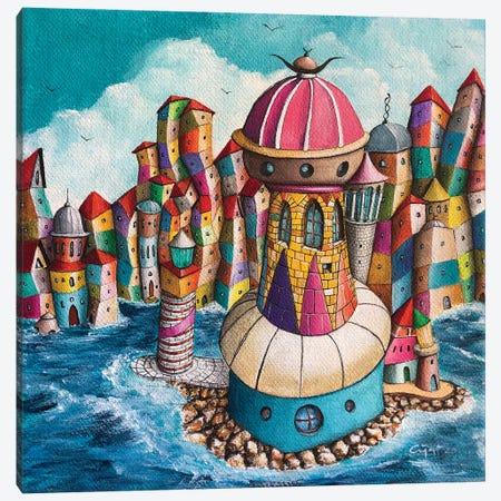 La Donnola Canvas Print #CYS27} by Cüneyt Süer Canvas Artwork