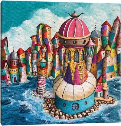 La Donnola Canvas Art Print