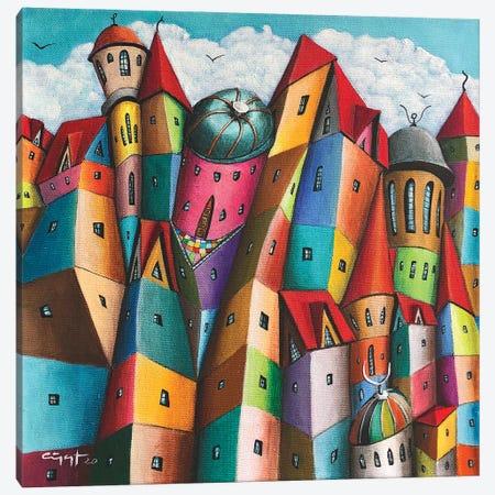 Miscredienti Canvas Print #CYS28} by Cüneyt Süer Canvas Art Print