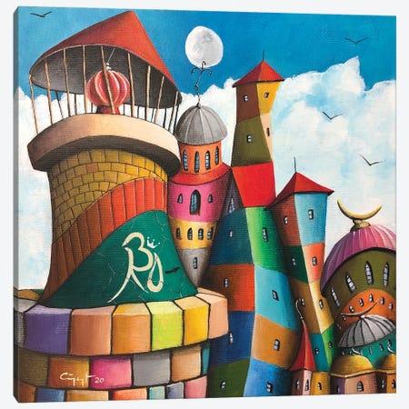 La Padrona Canvas Print #CYS29} by Cüneyt Süer Canvas Art Print