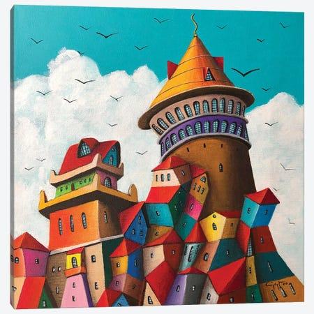 Il Padrone Canvas Print #CYS30} by Cüneyt Süer Canvas Artwork