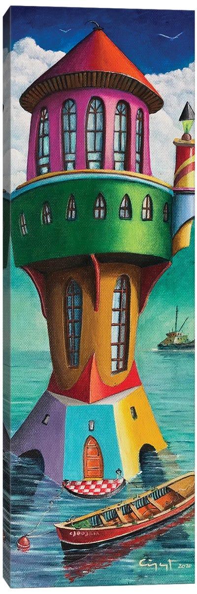 The Haunt Canvas Art Print