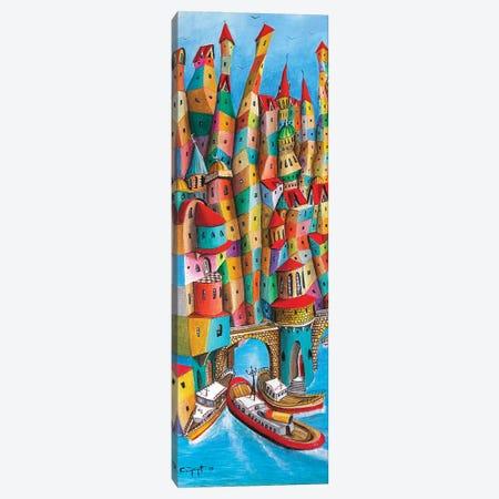 The Steamboat Canvas Print #CYS3} by Cüneyt Süer Canvas Wall Art