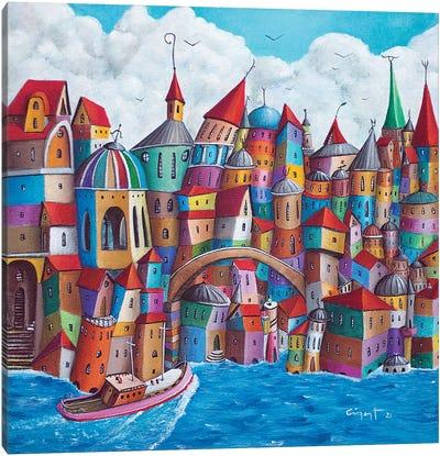 Bridged Canvas Art Print