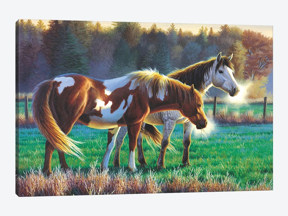 Horses by Cynthie Fisher 1-piece Canvas Print